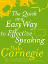 The Quick and Easy Way to Effective Speaking (eBook)
