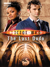 The Last Dodo (eBook): Doctor Who Series, Book 11
