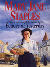 Echoes of Yesterday (eBook): A Novel of the Adams Family Saga