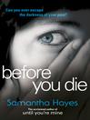 Before You Die (eBook)