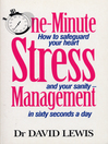 One Minute Stress Management (eBook)