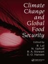 Climate Change and Global Food Security eBook