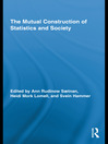 The Mutual Construction of Statistics and Society (eBook)