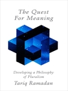 The Quest for Meaning (eBook): Developing a Philosophy of Pluralism