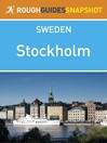 Stockholm Rough Guides Snapshot Sweden (eBook)