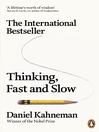 Thinking, Fast and Slow (eBook)