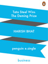 Tata Steel Wins the Deming Prize (eBook)