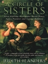 A Circle of Sisters (eBook): Alice Kipling, Georgiana Burne-Jones, Agnes Poynter and Louisa Baldwin