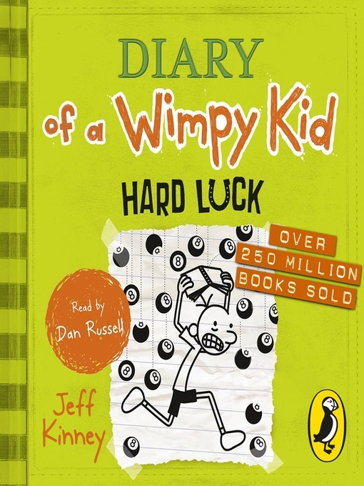 Hard Luck (MP3): Diary of a Wimpy Kid Series, Book 8