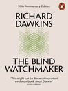 The Blind Watchmaker (eBook)