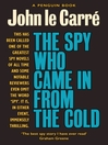 The Spy Who Came in from the Cold (eBook)