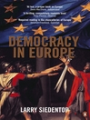 Democracy in Europe (eBook)