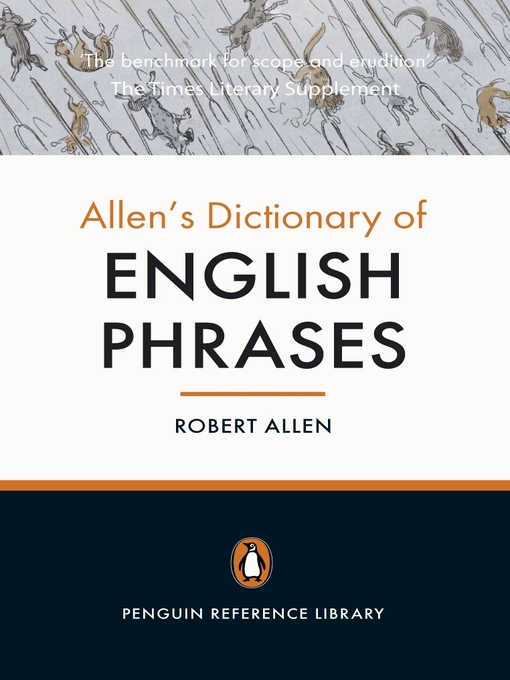 Allen's Dictionary of English Phrases (eBook)
