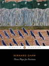 Three Plays for Puritans (eBook)