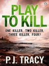 Play to Kill (eBook): Monkeewrench Series, Book 5