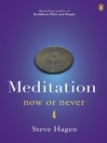 Meditation Now or Never (eBook)