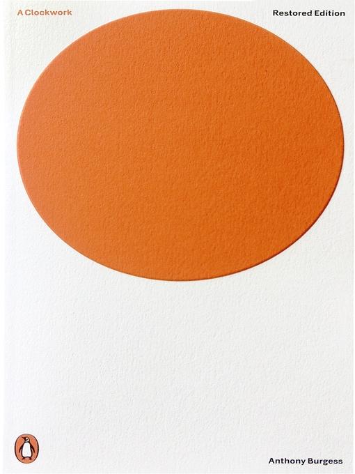 A Clockwork Orange (eBook)