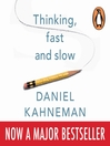 Thinking, Fast and Slow (MP3)