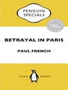 Betrayal in Paris (eBook): How the Treaty of Versailles Led to China's Long Revolution