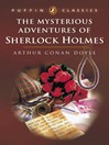 The Mysterious Adventures of Sherlock Holmes (eBook)