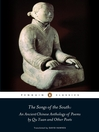 The Songs of the South (eBook): An Ancient Chinese Anthology of Poems By Qu    Yuan And Other Poets