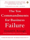 The Ten Commandments for Business Failure (eBook)