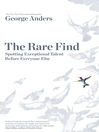 The Rare Find (eBook): How Great Talent Stands Out