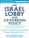 The Israel Lobby and US Foreign Policy (eBook)