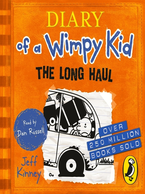 The Long Haul (MP3): Diary of a Wimpy Kid Series, Book 9