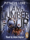 I Am Number Four (MP3): Lorien Legacies Series, Book 1