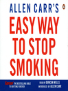 Allen Carr's Easy Way to Stop Smoking (MP3)