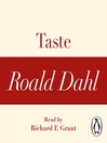 Taste (MP3): A Roald Dahl Short Story