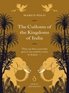 The Customs of the Kingdoms of India (eBook)