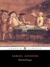 Selected Essays (eBook)