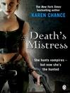 Death's Mistress (eBook): Dorina Basarab, Dhampir Series, Book 2