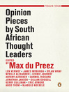 Opinion Pieces by South African Thought Leaders (eBook)