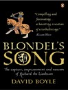 Blondel's Song (eBook): The capture, Imprisonment and Ransom of Richard the Lionheart