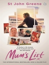 Mum's List (eBook)