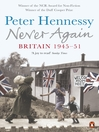Never Again (eBook): Britain 1945-1951