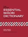The Raupo Essential Maori Dictionary (eBook)