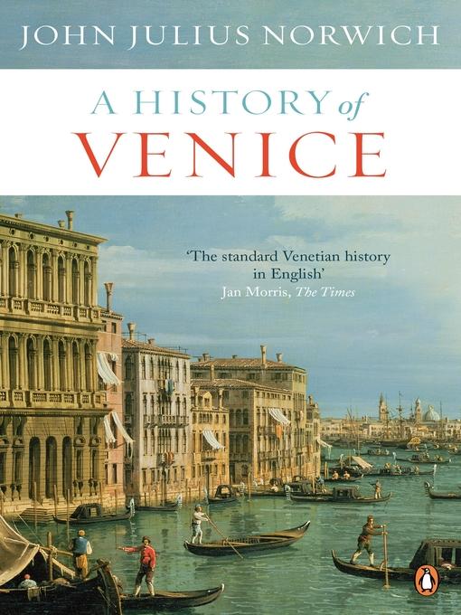 A History of Venice (eBook)