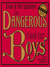 The Dangerous Book for Boys (MP3)