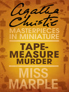 Tape Measure Murder (eBook): A Miss Marple Short Story