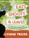 Eats, Shoots and Leaves (eBook)