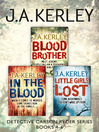 Detective Carson Ryder Thriller Series Books 4-6 (eBook): Blood Brother, In the Blood, Little Girls Lost