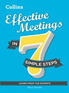 Effective Meetings in 7 simple steps (eBook)