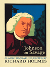 Johnson on Savage (eBook): The Life of Mr Richard Savage by Samuel Johnson