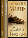 A Game of Thrones, Part 1 (MP3): Song of Ice and Fire Series, Book 1