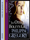 The Other Boleyn Girl (MP3)