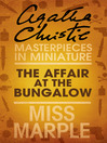The Affair at the Bungalow (eBook): A Miss Marple Short Story